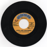 Overdub riddim: Glen Washington - Love One Another / Bob Andy & Mark Wonder - Can't Stand This (Al.Ta.Fa.An. / Buyreggae) EU 7""